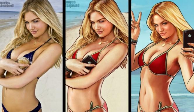 GTA 5 фото девушки