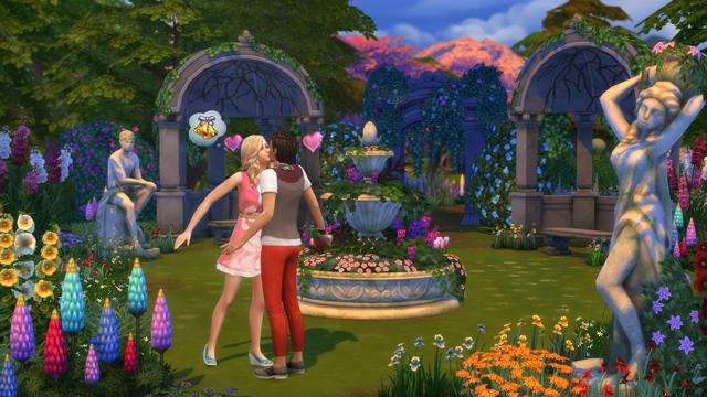 Как построить любовь в Sims 4