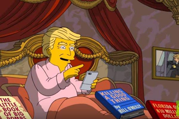 Трамп вновь стал героем Симпсонов