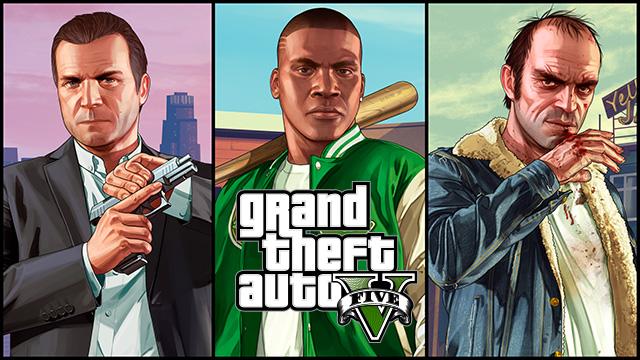 Игровой процесс GTA 5 на ПК