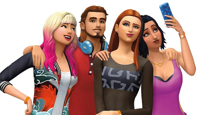 онлайн игру Sims 4