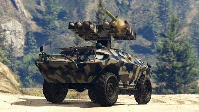 танк в гта 5 серого цвета