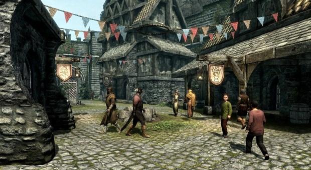 Скайрим ожидает появления города брума