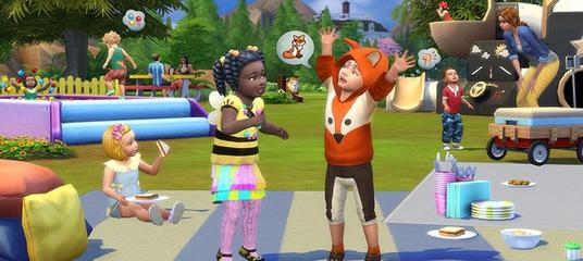Детские вещи добавятся в Симс 4 в конце лета