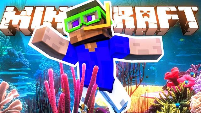 Водный мир Minecraft