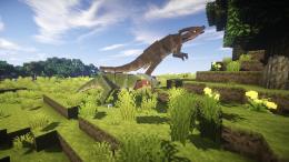 Динозавры в Minecraft