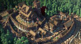 Игроки Minecraft воссоздали карту Вестероса из сериала Игра Престолов